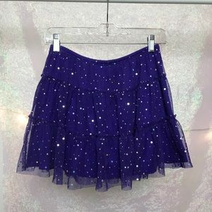 Super cute Total Girl sparkly skirt